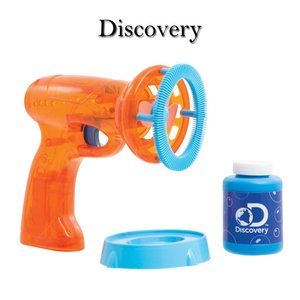 Discovery Automatic Light Up Bubble Blower NWT